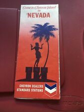 Vintage Map ; 1969 Chevron Standard Map of Nevada