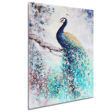 Peacock HD Unframed Canvas Print Painting Picture Poster Wall Art Decor 50x75cm