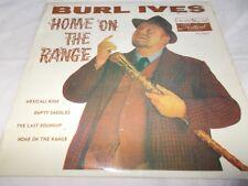 "BURL IVES - HOME ON THE RANGE - OZ 7"" P/S EP - FX-10.442 - COUNTRY / FOLK"