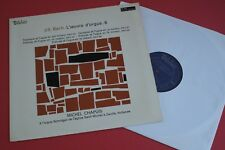 MB 846 Valois Stereo J.S Bach Organ Works Michel Chapuis Vol.6 FRANCE LP 1968