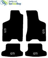 Teppiche VOLKSWAGEN LUPO, Stickerei: GTI + 4 befestigen Kompatibel mit original