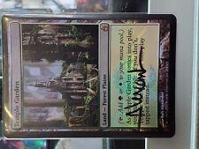 [1x] Temple Garden - Signed Foil - Ravnica NM [x1] Misc. Oddities Near Mint, Eng