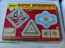 1969 Vintage Kenner Super Spirograph Incomplete