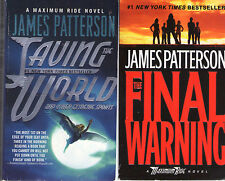 Complete Set Series - Lot of 9 Maximum Ride books by James Patterson (YA, Teen)