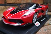 Ferrari FXX K in Red MAISTO 1:18 Scale Diecast Model Car