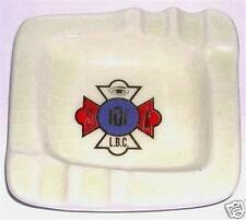 ASHTRAY FORESTER HAVEN HAND MADE IOF L B C CERAMIC TYPE