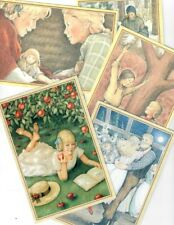 Pleasant Company Kirsten Postcards! Lot Of Five Retired 1996! American Girl!