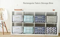 Foldable Storage Baskets Bin Closet Toys Box Container Organizer Hanging Bag