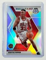 2019-20 Panini Mosaic Basketball Scottie Pippen Hall Of Fame Silver Bulls