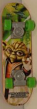 """2010 Jedi Master Yoda #4 Skateboard 4"""" Finger Board McDonalds Star Wars Clone"""