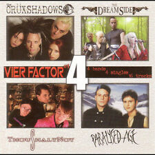 "The Crüxshadows - Dreamside - ThouShaltNot - Paralysed Age - ""Vier Factor"""