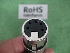 New 5-pin DMX XLR Kupplung Buchse Stecker weiblich female 5-pol vergl. 5H1043