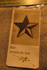 "Toland Art Flag  28x40"" 8061 ""American Star"" Weather Proof NIP"