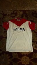 Vintage Faema wool cycling jersey Merckx embroidered XL fit NM Eroica