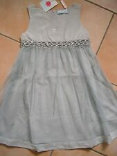 (C427) Miss Blumarine Girls Kleid ohne Arm mit Pailletten & Strass Besatz gr.116