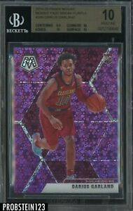2019-20 Panini Mosaic Purple Fast Break Prizm #249 Darius Garland RC /50 BGS 10