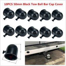 10PCS 50mm Tow Ball Bar Cap Covers Towing Car Van Trailer Towball Protection Set