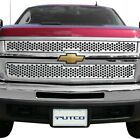 For Chevy Silverado 1500 07-13 Main Grille 2-pc Polished Round Punch Cnc