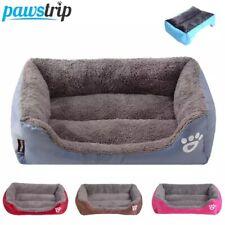 S-3XL dog cat Pet Sofa Dog Beds Waterproof Bottom Soft Fleece Warm mattress Bed