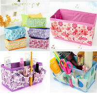 Girl Folding Multifunction Makeup Cosmetic Storage Box Container Case Organizer