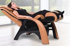 Human Touch Volito Zero Gravity ZeroG Massage Chair Recliner Caramel