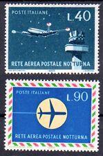 Italien 1193-1194 , postfrisch / ** / Flugzeuge , Flugpostnetz