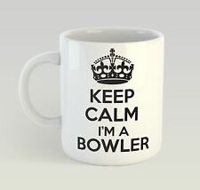 ... De Reino Unido. Keep Calm I m A Bowler Birthday Mug Funny Birthday  Novelty Gift 089ecebfd79