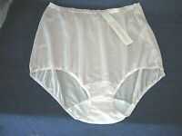 Vintage Shadowline Nude Nylon Brief Panties  sz 9  2XLarge