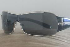 PRADA Illusion Surdimensionné 18O Shield PR18OS noir gris dégradé Lunettes de soleil 05O   eBay