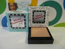 Benefit ~ Hello Flawless Custom Powder Cover Up ~ Toffee ~ 0.25 Oz Boxed
