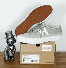 Huf Worldwide Footwear Skate Shoes Shoes Hupper 2 Lo Aluminium Suede 10/43