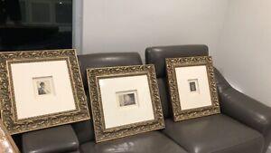 Rembrandt Van Rijn original Etchings ERP $30k to 35k - Set Of 3 with COA