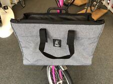 Brompton Valeria's Folding Bike Front Basket Bag - Light Gray