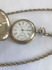 Gold Filled Keystone Case 7486025 Antique Waltham Pocket Watch. 14K