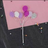 1x Creative glitter little balloon iron cake topper cupcake cake decoration hot