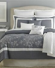 Pastille 10 (5) Piece King Comforter Set Gray/Cream T459