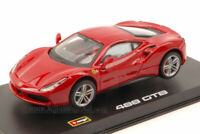 Ferrari 488 Gtb 2015 Red Signature 1:43 Model BBURAGO