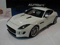 "AUTOart 73651 # Jaguar F-Type R Coupe Baujahr 2015 "" Polaris-white "" 1:18  NEU"
