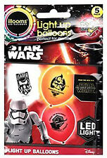 LED Illooms balloons light-up kids birthady/STAR WARS - First Order