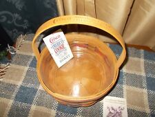 Longaberger 1992 Crisco American Baking Cookie Basket w Protector