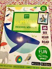 Preschool/Kindergarten-ALPHABET LETTER WRITING FUN-learning home school workbook