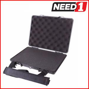 TSUNAMI Rugged SHOCKPROOF Hard Laptop Case   33cm x 26cm x 5cm   Waterproof IP67