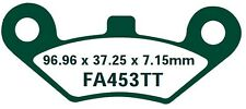EBC plaquettes de freins fa453tt ESSIEU AVANT GOES 520 Max (quad) 07-09