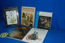Lot 5 livres Fantastiques format grand-guide de la NATURALISTA-JAZZ - ZEN - LA