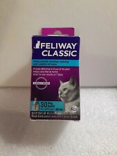Feliway Classic 30 Day Refill for difuser 48ml, cat stress relief. Exp 4/10/22