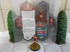 Heroscape Custom Witchblade Double Sided Card & Figure w/ Sleeve Image