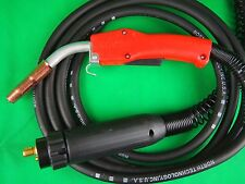 On Special TWECO Style 200A NT2 x 15'/4.5mtr MIG Torch Tw#2 Euro Bobthewelder