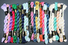 25x Needlepoint/Embroidery THREAD DMC Cotton Perle 5-mixed-IW4