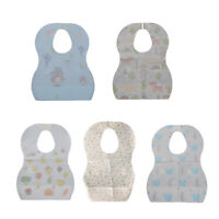 20/set Baby Infants Drooling Bib Disposable Burp Cloth for Home Travel Use