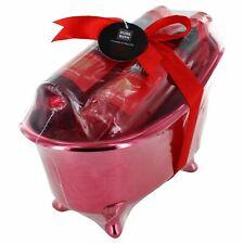 Pure Bath Lavender & Waterlily Ladies Bubble Bath, Shower & Beauty Tub Gift Set